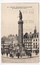 lille , monument commémoratif du siège de 1792