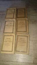 Dionyssi halicarnassensis Opera omnia . d'Halicarnasse. 6 volumes. Grec. Greek
