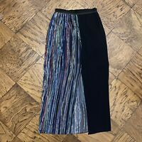 NWOT Beautiful NEW Sandro Chiffon Maxi Skirt Multi-Color Size 1 (0/2) $325!!