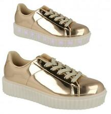 H3061- Girls Spot On Light Up LED Multi Coloured Lights Trainers- Great Price