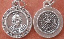 Saint St. Florian Protect Me Medal + Fire Dept + A bucket of water goes so far R