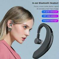 Waterproof Bluetooth 5.0 Earbuds Headphones Wireless Headset Noise Cancelling AU