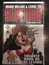 Superior #4 NM- 1st Print Free UK P&P Icon Comics Mark Millar