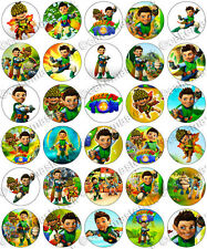 30 x Tree Fu Tom Party Edible Rice Wafer Paper Cupcake Toppers