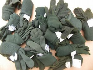 British Army, MOD, 'contact' gloves. Mixed sizes.  Job lot clearance x 21 pairs