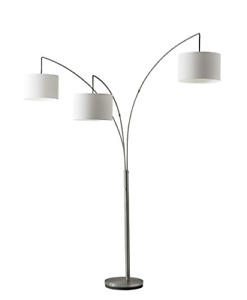 Adesso Home 4238-22 Transitional Three Light Floor Lamp from Trinity Collection
