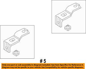 FORD OEM 03-14 E-350 Super Duty 5.4L-V8 Radiator-Upper Bracket 6C2Z8A193A
