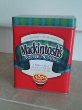 MACKINTOSH'S TOFFEE DE LUXE TIN ~ NEW