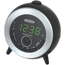 JENSEN JCR-225 Dual Alarm Projection Clock Radio