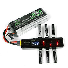 AOK CX605 CX610 6CH DC/XT60/USB Battery Charger for 3.7V 1S Lipo Battery