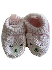 Pink Bear Infant Girl Shoes Size 0