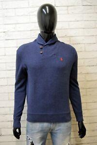 Maglia Uomo Ralph Lauren Taglia M Blu Shirt Man shirt  Maglione Polo Cotone