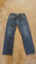 Mens  Levi 501 jeans 34w