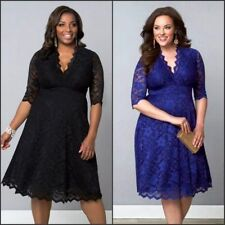 Empire Waist Hand-wash Only Plus Size Dresses for Women