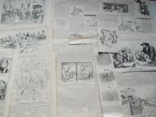 Ponche de 1909/28 revista 13 dibujos animados distintas situaciones representado con animales