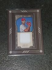 Gio Gonzalez 2015 Gypsy Queen Mini Relic Game Used Jerssey #GMR-GG