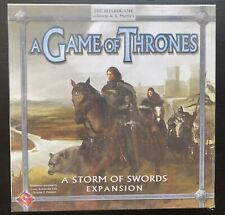 A Game Of Thrones: A Storm Of Swords Card Game Expansion - Sealed Box
