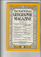 NATIONAL GEOGRAPHIC Magazine November 1956 - New York State's New Main Street