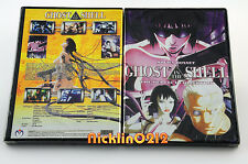 Ghost in the Shell 2 Movies DVD Perfect Complete Collection English Dub New