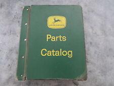 original John Deere 4240 4040 4840 Tractor Parts Catalog Lot of 3 in Binder