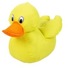 11 in plush yellow AUTOGRAPH rubber duck ducky graduation baby shower signature