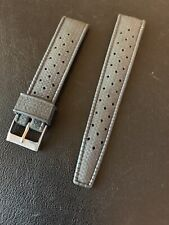 Vintage Black Tropic Waffle Strap 19mm Band