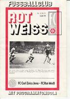 OL 76/77  FC Rot-Weiß Erfurt - FC Carl-Zeiss Jena