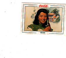 "1994 THE COCA-COLA COLLECTION SERIES 2  #151 ""1944 ARTWORK in ADVERTISIING""-- NM"