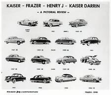 Old Print.  Kaiser-Frazer Automobiles 1947 to 1955