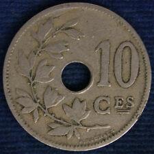 BELGIO BELGIUM 10 CENT 1902 BB/VF #1831A