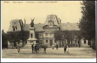 SEDAN France ~1910/20 CPA Personen a.d. Bibliothek alte Postkarte Frankreich