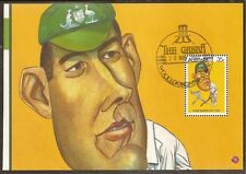 AUSTRALIA 2007 TRUMPER 1981 CRICKET 1v Souvenir Sheet FINE USED GABBA Postmark