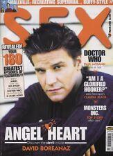 SFX MAGAZINE - March 2002 Dr Who David Boreanaz Claudia B