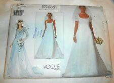 Oop Vogue 2085 Bellville Sasson wedding dress classic princess seams sz 6-10 NEW