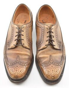 RARE | FLORSHEIM 11D GOLDEN HARVEST LONGWING VINTAGE SHOES