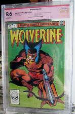 WOLVERINE #4 1982 9.6 NM+ ~Signed by Frank Miller~ CBCS CGC