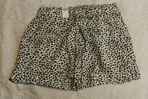 Aerie Women's Beach & Beyond Short CD4 Leopard Size XS NWT