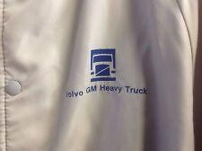 Vintage Volvo GM Heavy truck Emblem Jacket Pla-Jac Dunbrooke USA  44-L-46