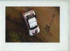 Juha Kankkunen Peugeot 205 New Zealand Rally 1986 Signed Photograph 2