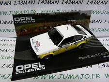 OPE89R voiture 1/43 IXO OPEL collection : KADETT C GT/E Monte Carlo 1978 #7