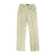 Vintage Etro Silk Brocade Pants Trousers Roses Flowers