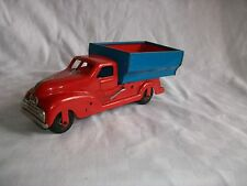 Vintage Toys Tinplate Friction Truck made in Western Germany by Gescha D.B.G.M