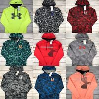 Mens Under Armour Hoodie UA Coldgear Graphic Logo Sweatshirt Pullover S M L XL