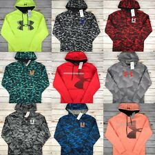 Mens Under Armour Hoodie UA Coldgear Graphic Logo Sweatshirt Pullover S M L XL