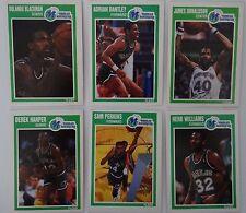 1989-90 Fleer Dallas Mavericks Team Set Of 6 Basketball Cards