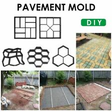 Garden Paving Molds DIY Plastic Walk Manually Road Path Maker Paving Cement
