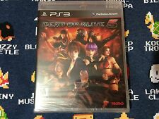 Dead or Alive 5 BRAND NEW SEALED  (Sony PlayStation 3, 2012)