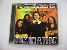 DEBASE - DOMINATION - CD EXCELLENT CONDITION 2001