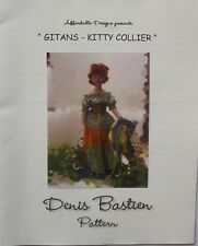 "Denis Bastien 18"" Kitty Collier Doll GITANS Clothes Sewing Pattern"
