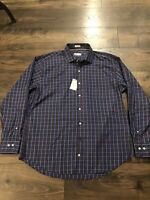 Nwt Mens Peter Millar Crown Soft Long Sleeve Button Shirt Medium